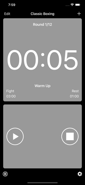 boxing interval timer on the app store