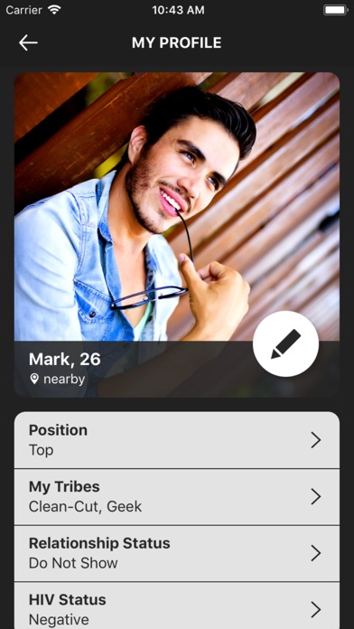 Gay dating app for geeks