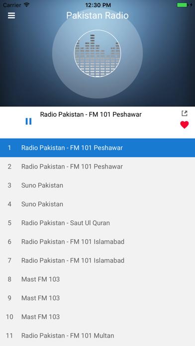 Pakistan Radio Station FM Live by Gim Lean Lim (iOS, United