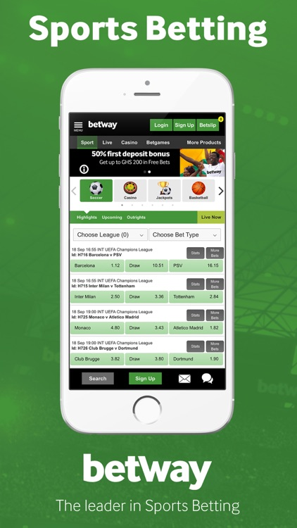 Betway: Sports Betting