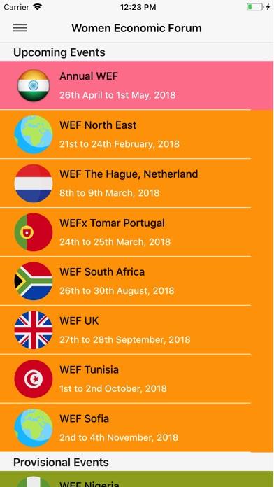 Women Economic Forum Screenshot