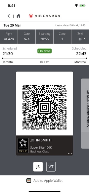 40cd07617fe8 Air Canada on the App Store