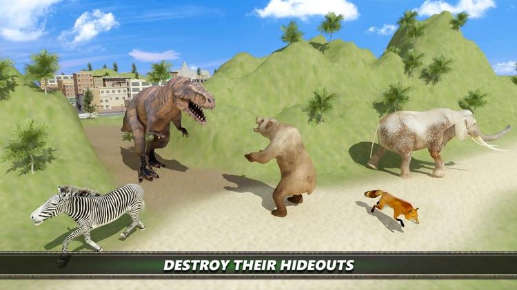Dinosaur City Simulator Games screenshot-4