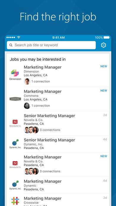 LinkedIn Job Search for Windows