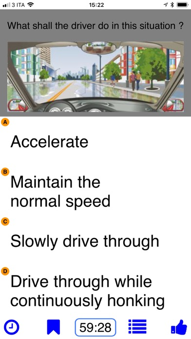 Driving in China - theory test