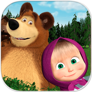 Masha and the Bear Games Education app