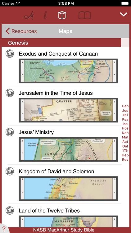 NASB MacArthur Study Bible screenshot-3