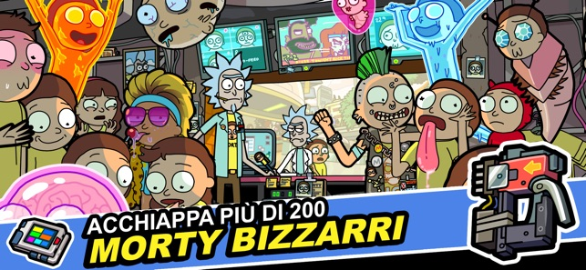 Rick And Morty Pocket Mortys Su App Store