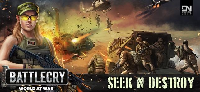 BattleCry: World War Game on the App Store