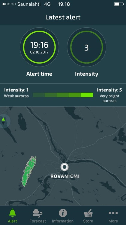 Aurora Alert Realtime screenshot-1