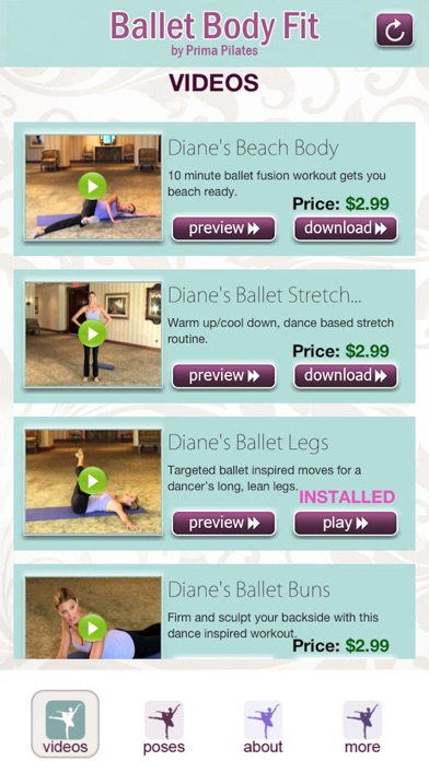 Ballet Body Fit Screenshot on iOS