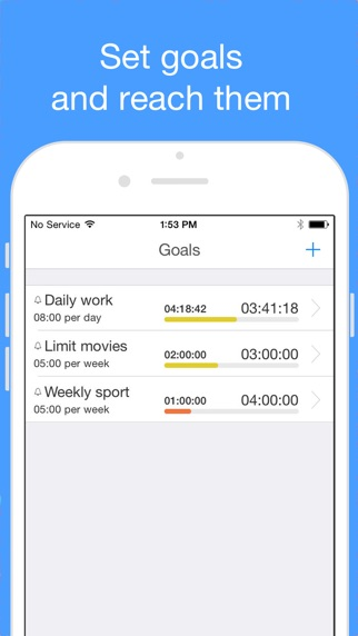 aTimeLogger 2 - Personal Time Tracker & Time Sheet Screenshot