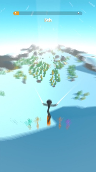 Stickman Snow Ride screenshot 2