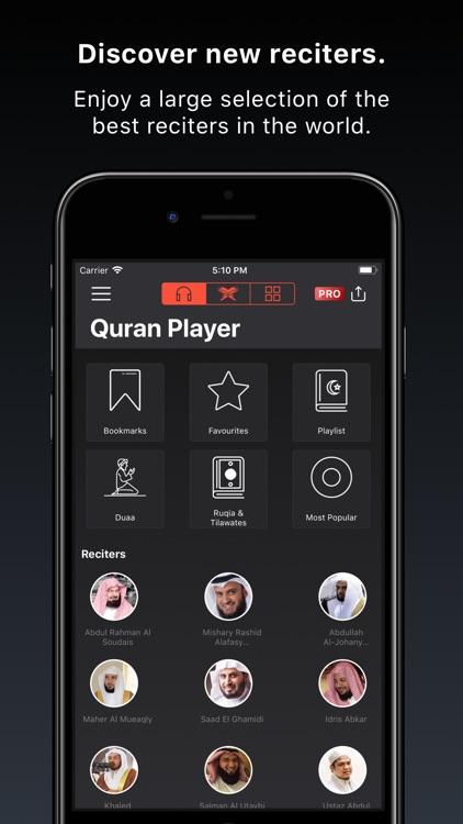 Quran Pro Muslim القرآن الكريم screenshot-0
