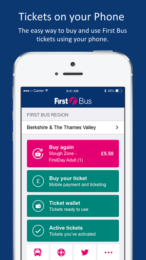 First Bus m-Tickets on the App Store