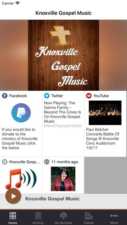 Knoxville Gospel Music
