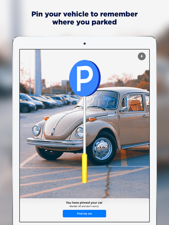 ‎PinDrive: AR Parking Assistant Screenshot