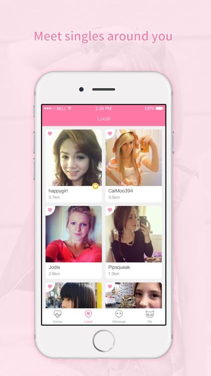 Just Singles Flirt -Hookup App screenshot-3