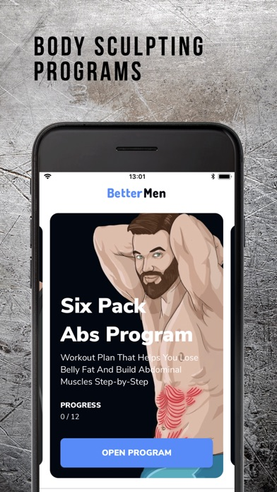 Download BetterMen: Workout Trainer for Pc