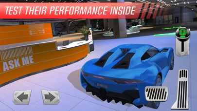 Luxury Car: Showroom Driver App 截图