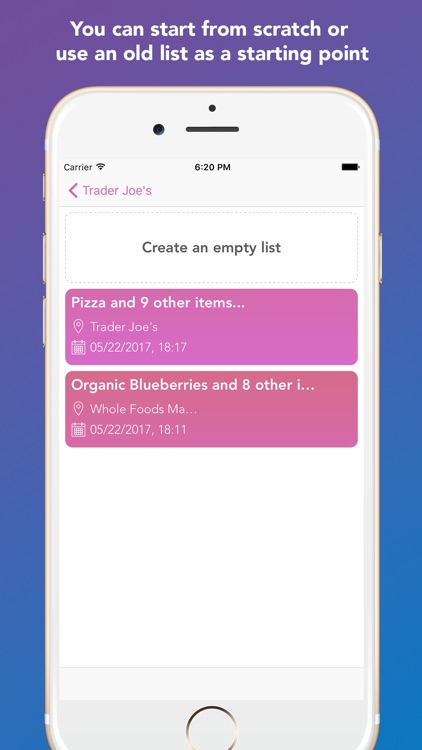 Whay: Shopping List Assistant screenshot-3