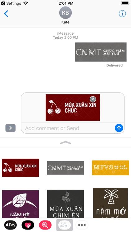 chuc tet sticker screenshot-3