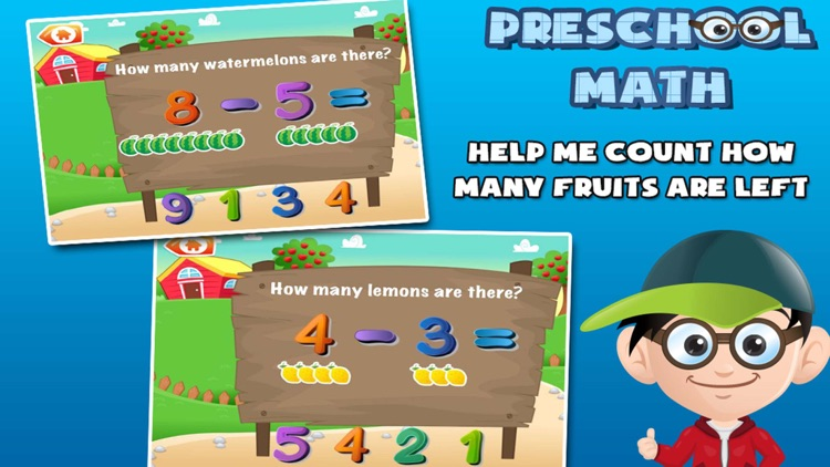 Preschool Math: Learning Games