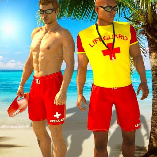 Virtual Beach Life Rescue Team iOS App