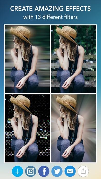 Blur Photo Effect Background