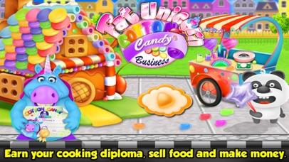 Fat Unicorn Cotton Candy Shop screenshot 1