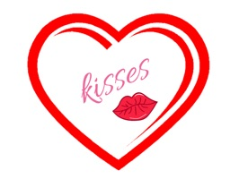 Hearts and kissess