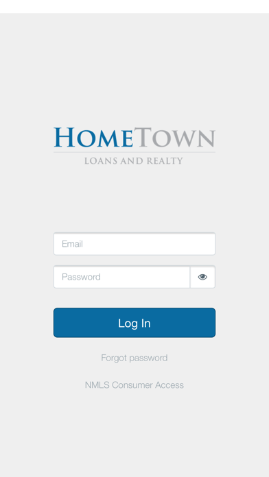 HomeTown Loans screenshot one