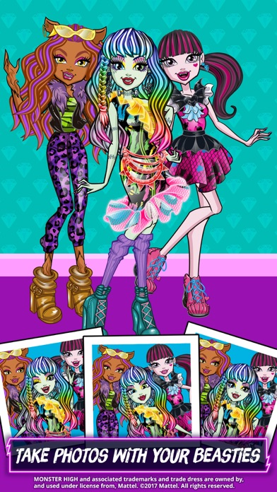 Monster High™ Beauty Shop screenshot 5