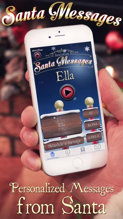 Santa Messages screenshot-0