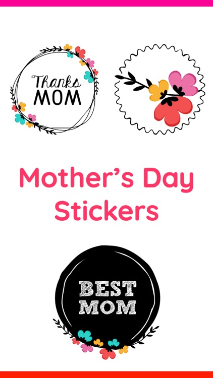 Happy Mother's Day Stickers IM