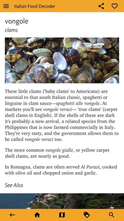 Italian Food Decoder screenshot-7