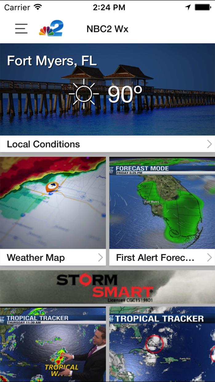 NBC2 Wx Screenshot
