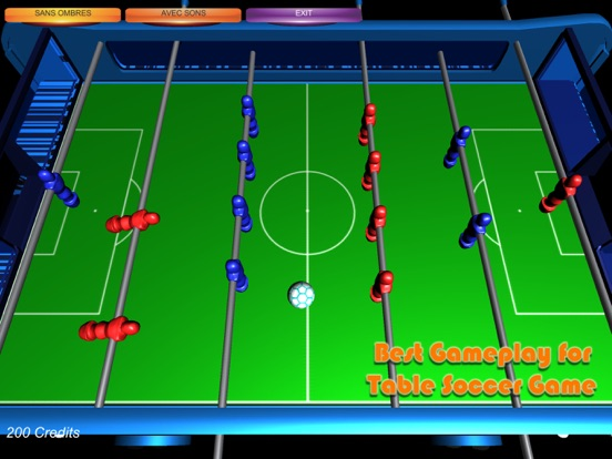 Table Soccer Foosball 3D screenshot 6
