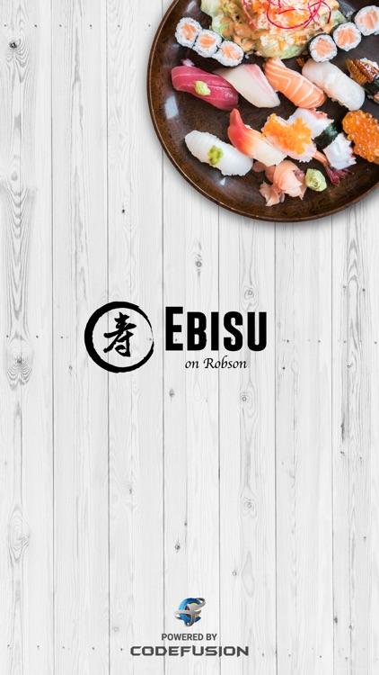 Ebisu Japanese Restaurant screenshot-4