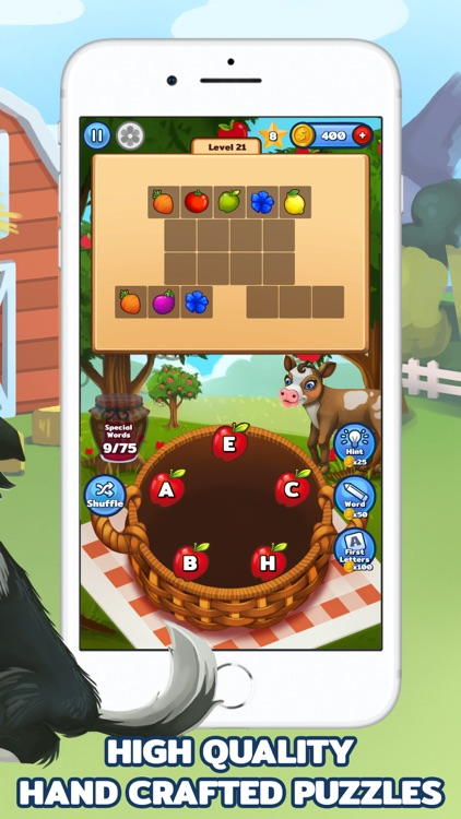 Word Farm - Search Puzzle Game screenshot-4