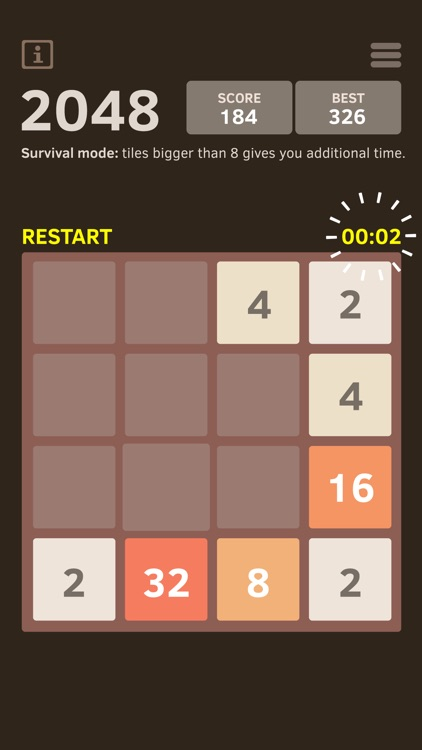 2048 Number Puzzle game screenshot-2