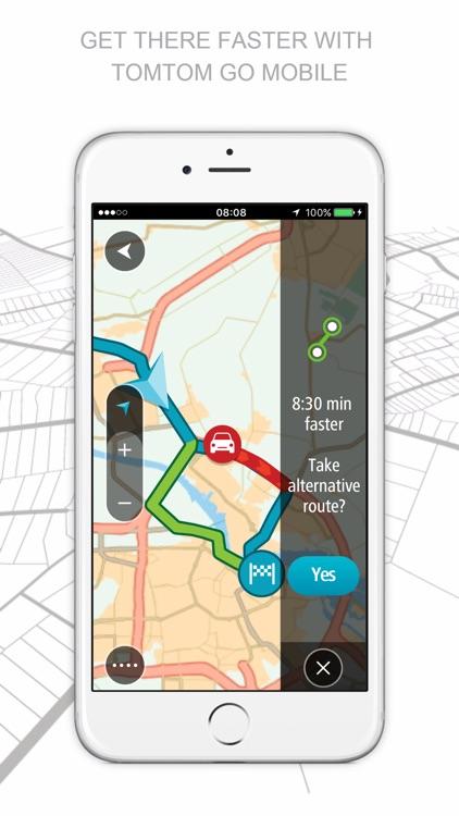TomTom GO Mobile screenshot-0