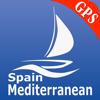 España mediterránea GPS Carta