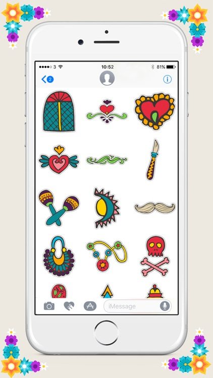 Day of the Dead Sticker Pack screenshot-3