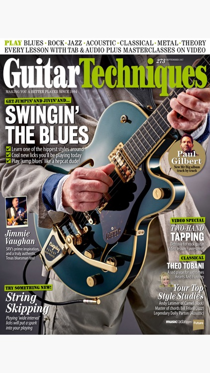 Guitar Techniques: the technical guitar magazine