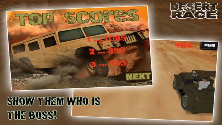 Desert Race 3D - Blood Brother screenshot-4