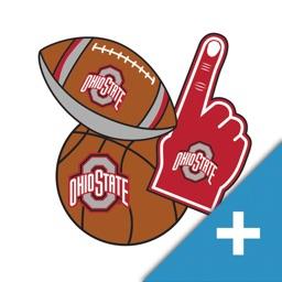 Ohio State Buckeyes PLUS Selfie Stickers