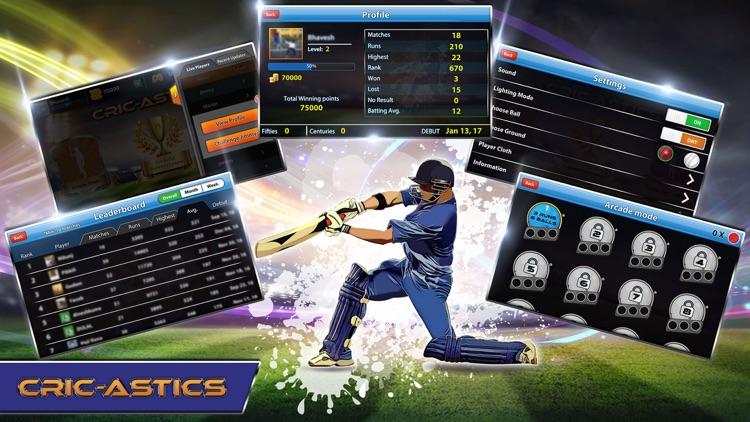 CricAstics 3D Cricket Game screenshot-4