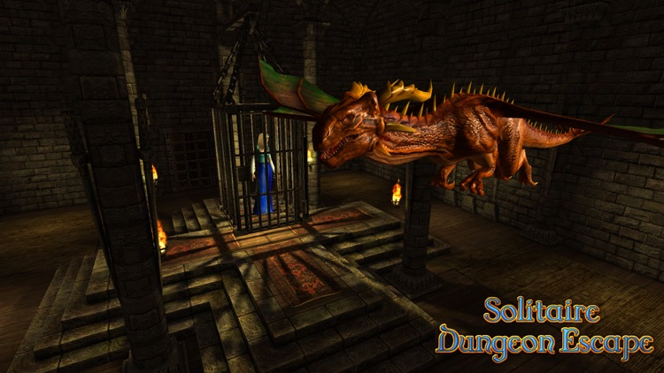 Solitaire Dungeon Escape screenshot-0