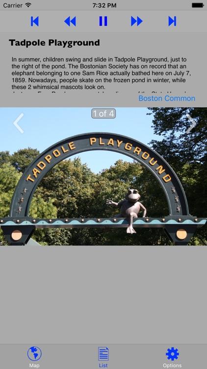 Boston Walking GPS Audio Tour screenshot-4